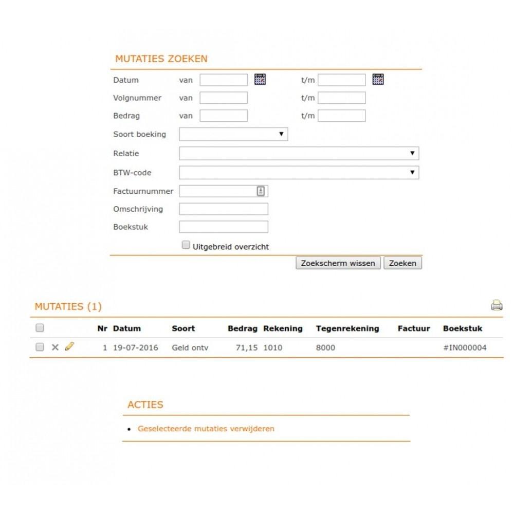 module - Boekhouding en fakturatie - Onofficiële e-Boekhouden.nl module - 10