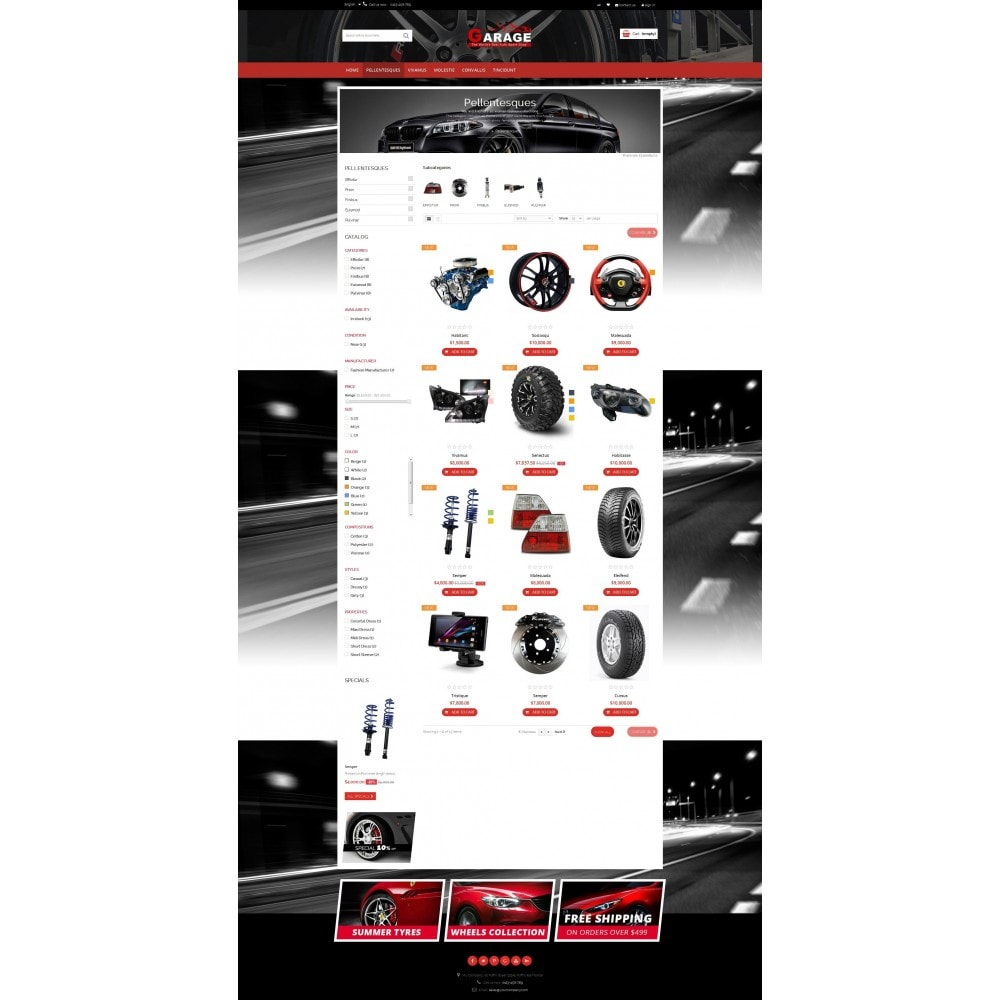 theme - Carros & Motos - Garage! Best Car Spare Shop - 3
