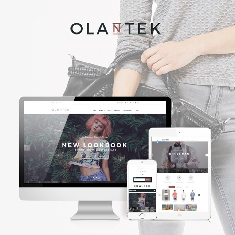 theme - Мода и обувь - Olantek Fashion & Shoes - 1