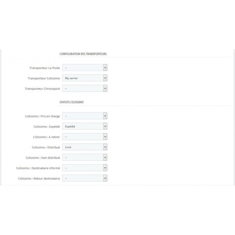 module - Sendungsverfolgung - Tracking Colissimo, La Poste, Chronopost - 2