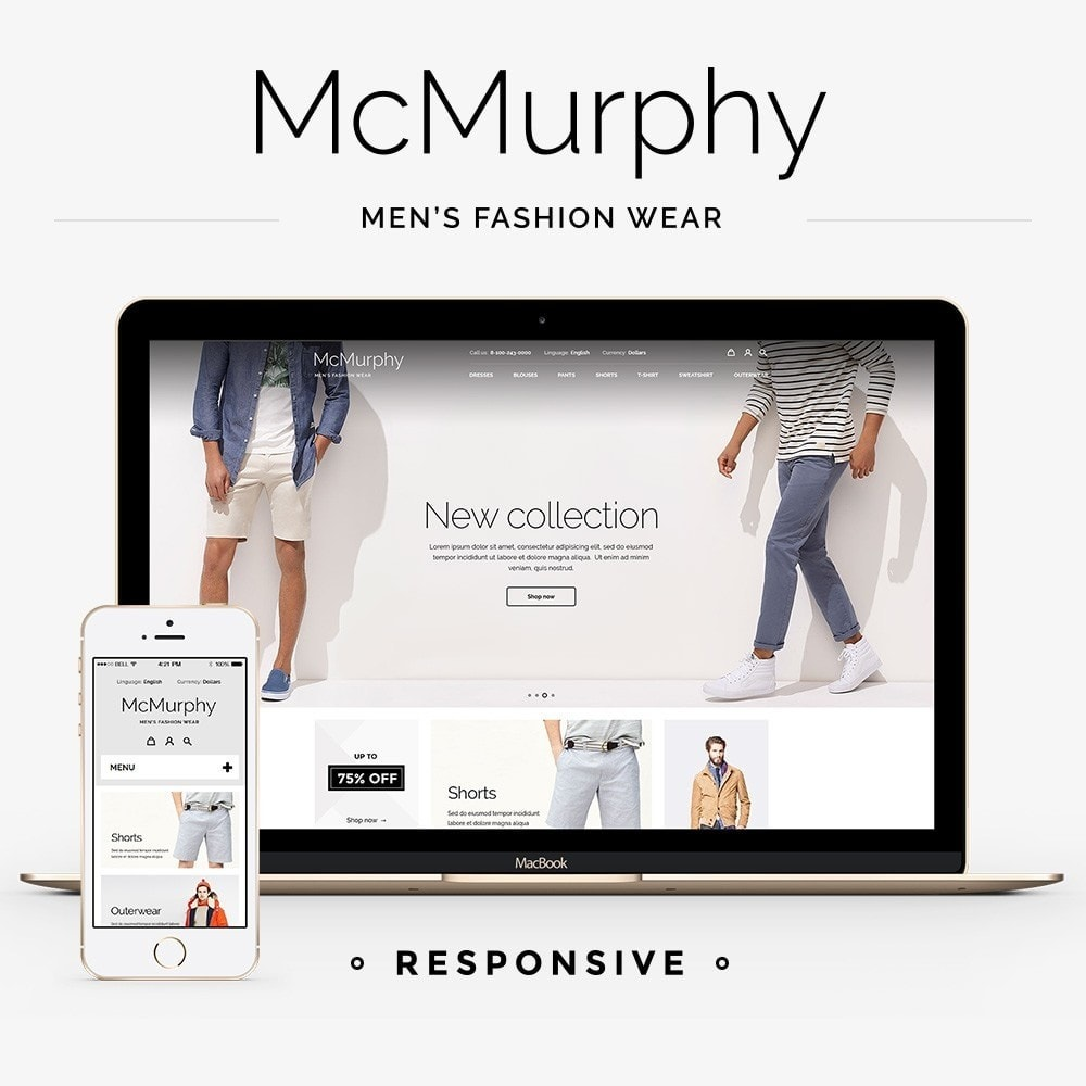 theme - Fashion & Shoes - McMurphy Men's Wear - 1