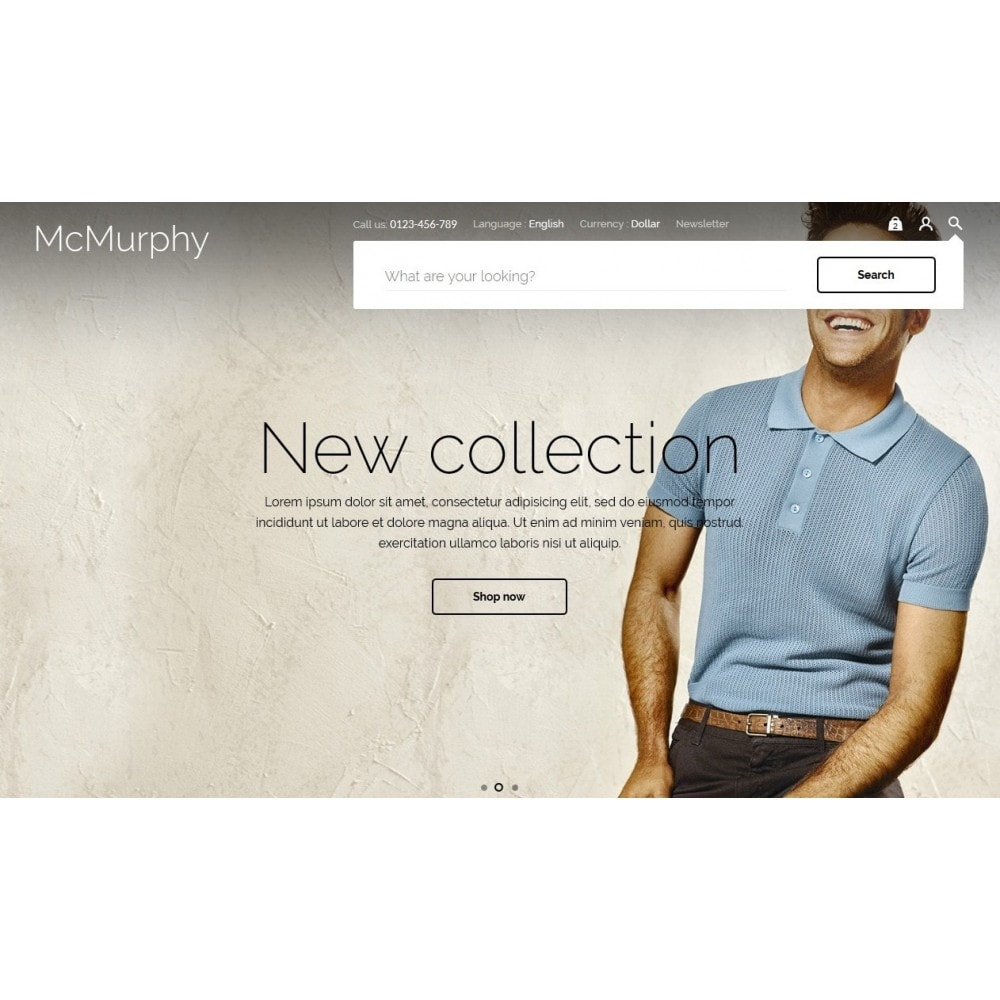 theme - Moda & Obuwie - McMurphy Men's Wear - 4