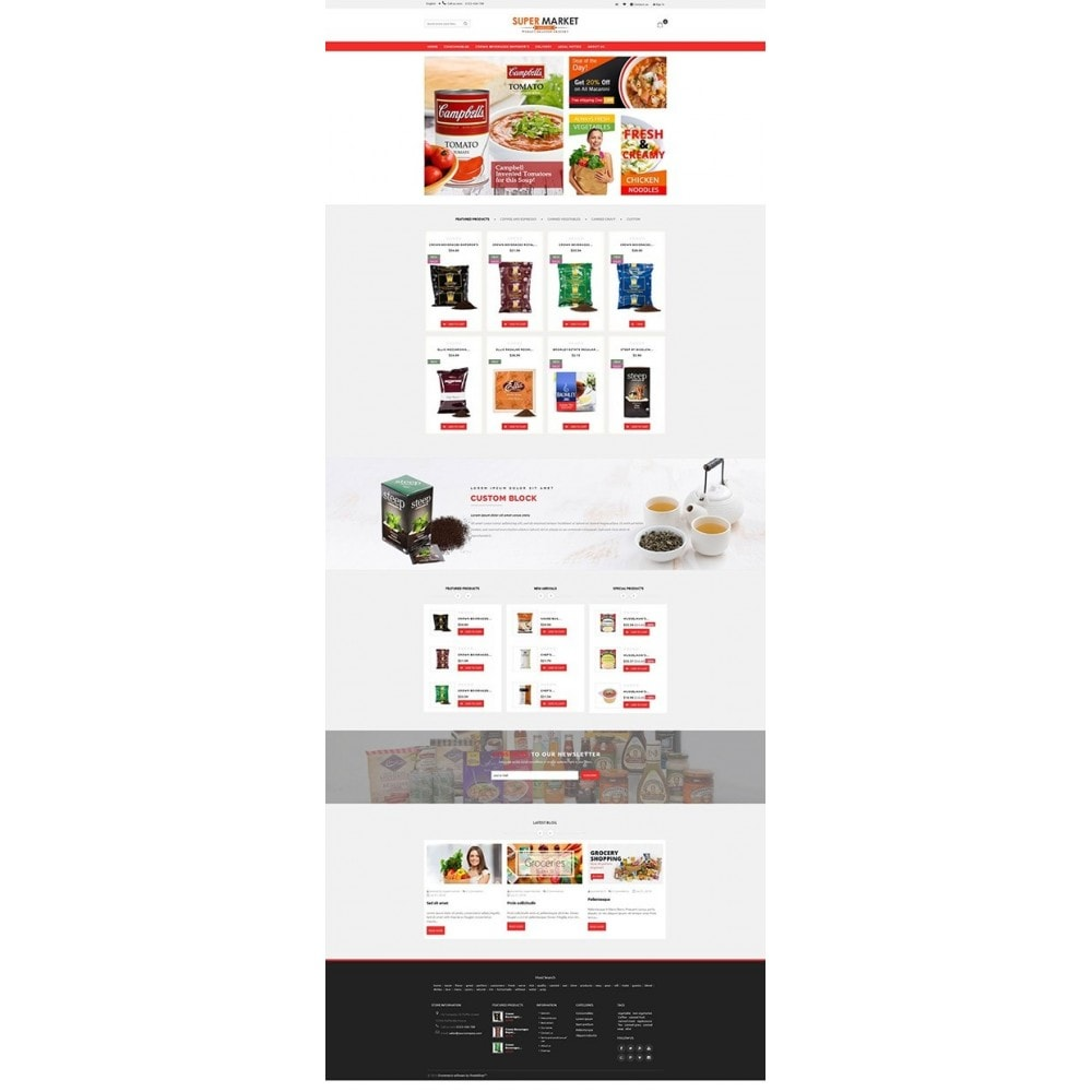 theme - Food & Restaurant - Supermarket Grocery Shop - 7