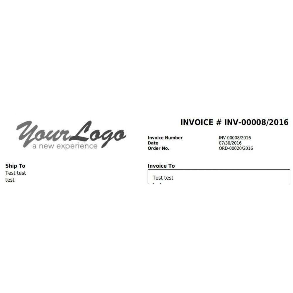 module - Księgowość & Fakturowania - Invoice number, Order number - multistore + editing - 5