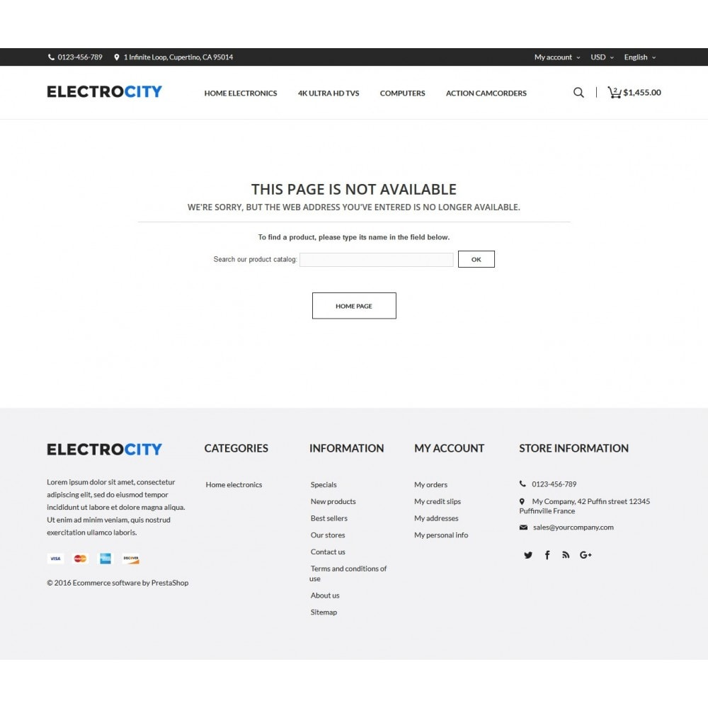 theme - Elettronica & High Tech - ElectroCity Store - 8