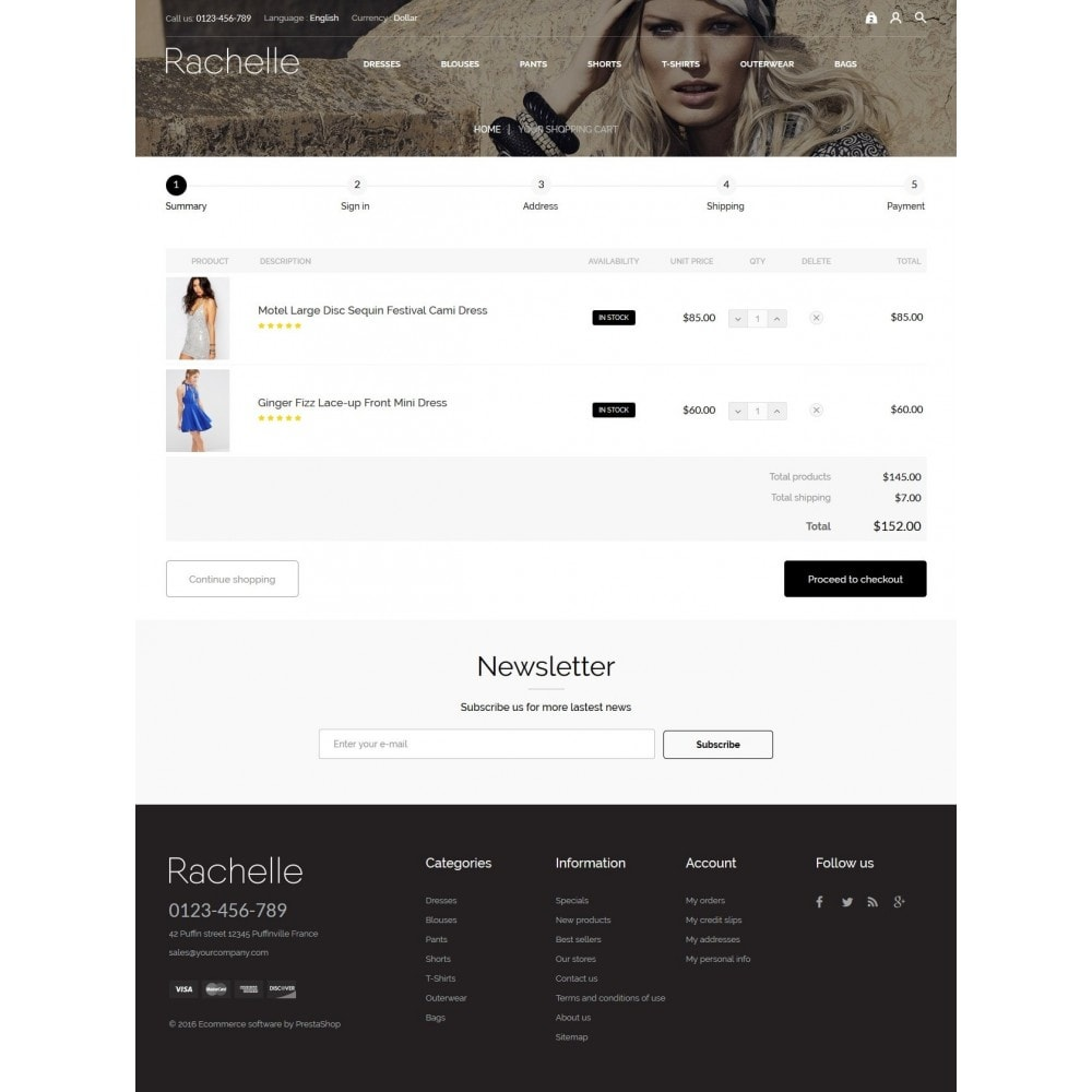 theme - Mode & Schuhe - Rachelle Fashion Store - 8