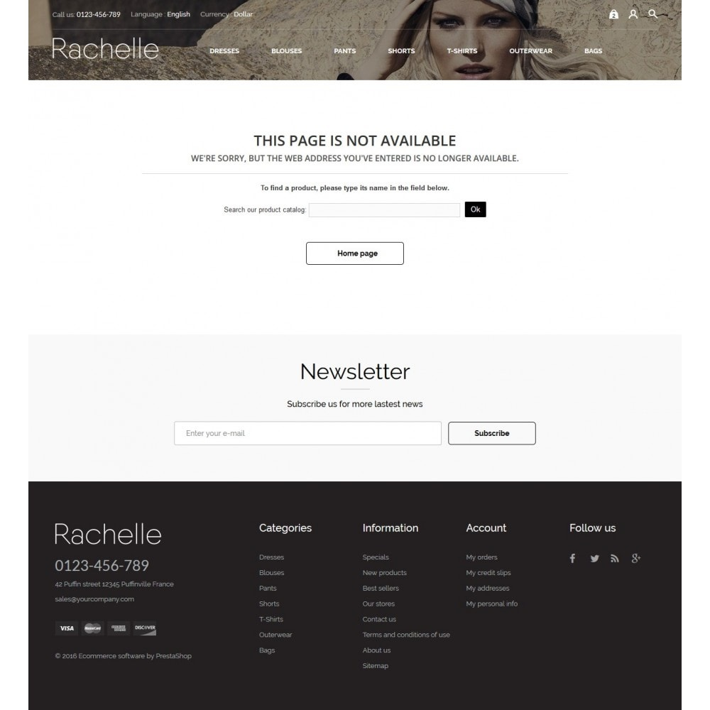 theme - Fashion & Shoes - Rachelle Fashion Store - 9