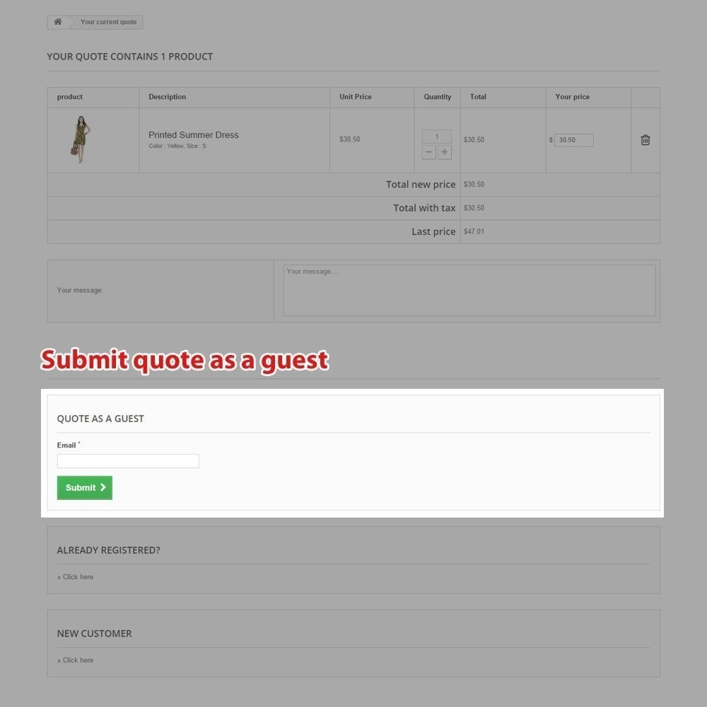 module - Angebotsmanagement - Quick Quote Tool Pro - 11
