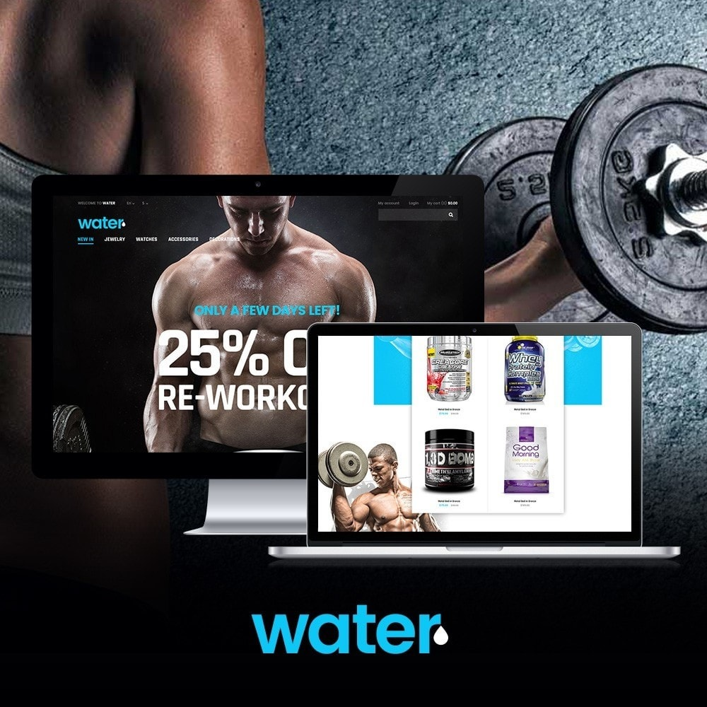 theme - Salud y Belleza - Water - Health & Medical - 1
