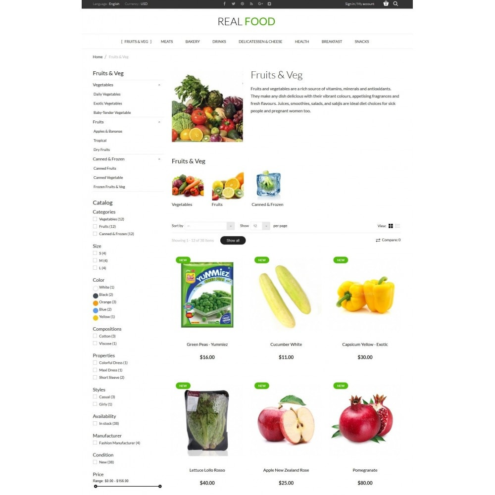 theme - Eten & Restaurant - Real Food Store - 5