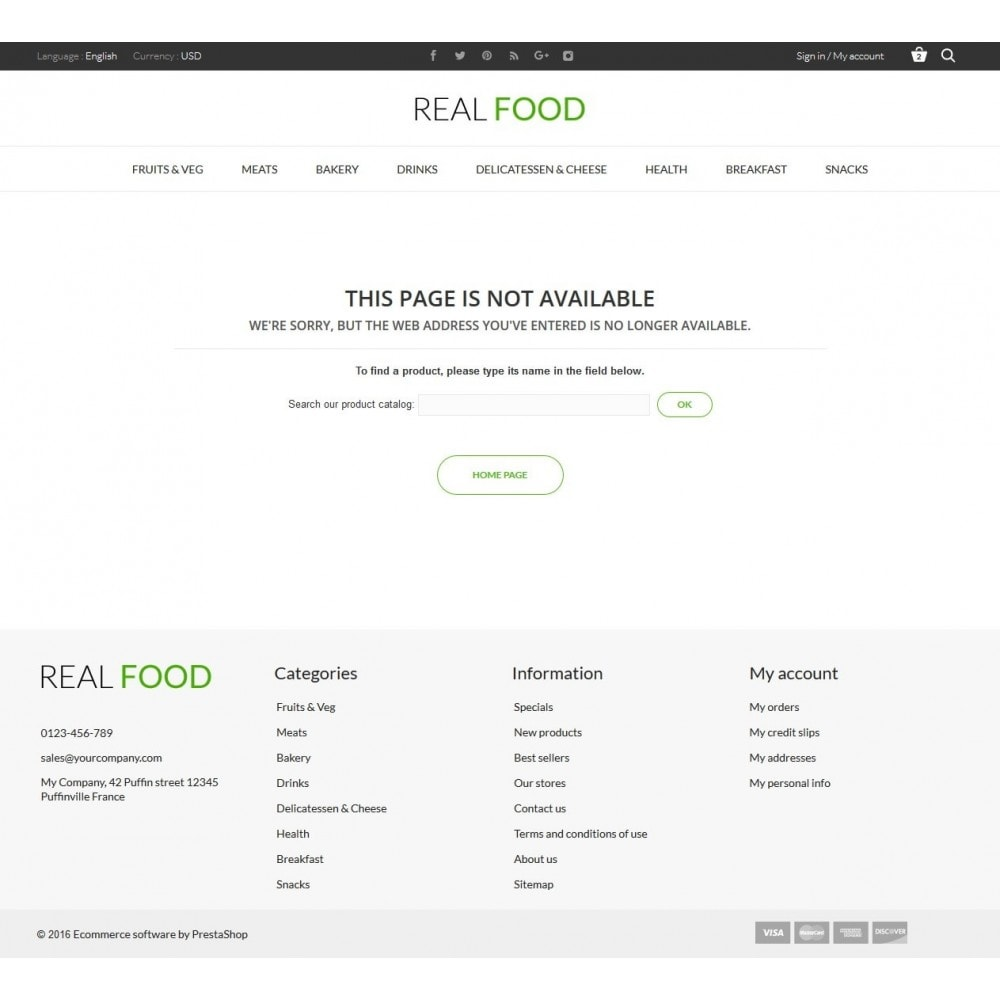 theme - Food & Restaurant - Real Food Store - 10