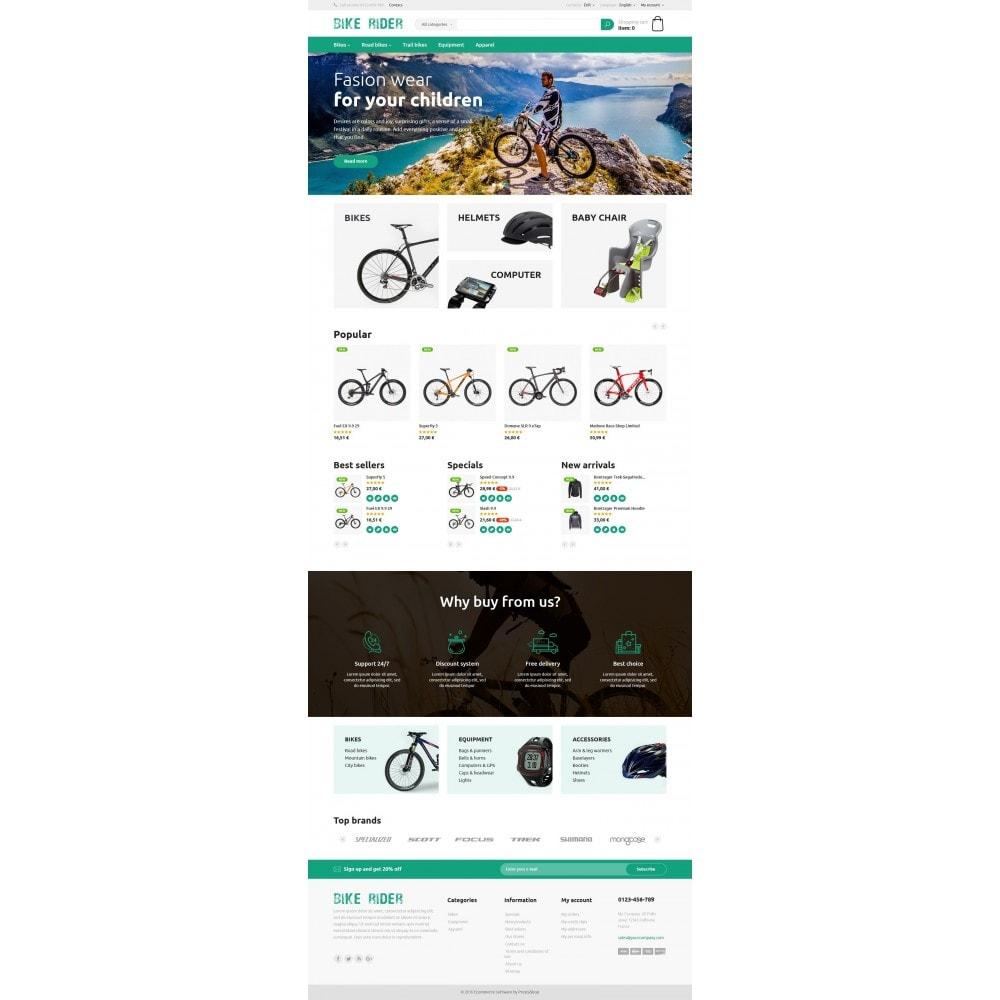 theme - Спорт и Путешествия - Bike Rider Store - 4