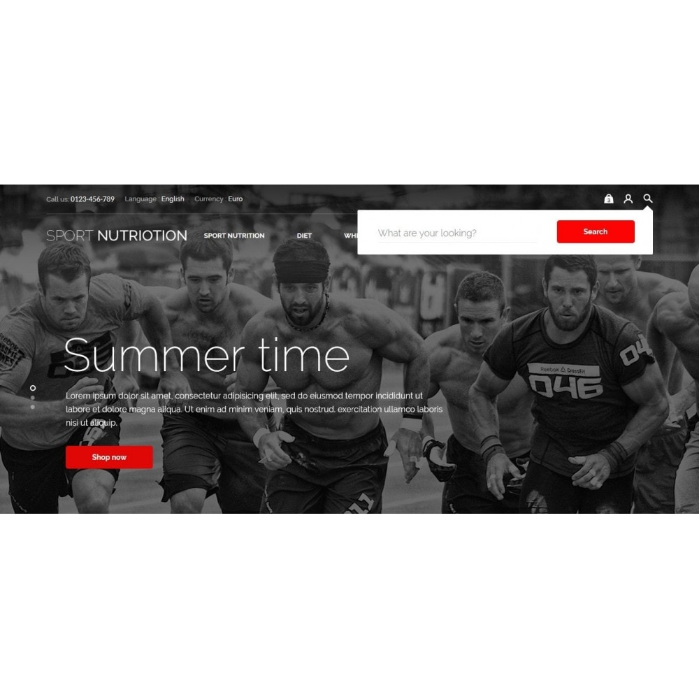 theme - Sport, Rozrywka & Podróże - Sport Nutrition Store - 4