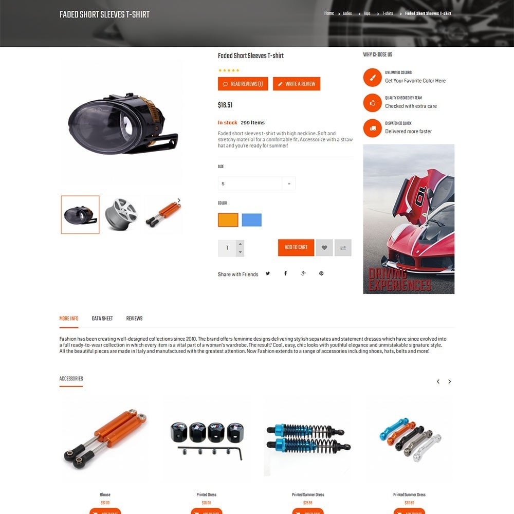 theme - Carros & Motos - Autofix Car Store - 7