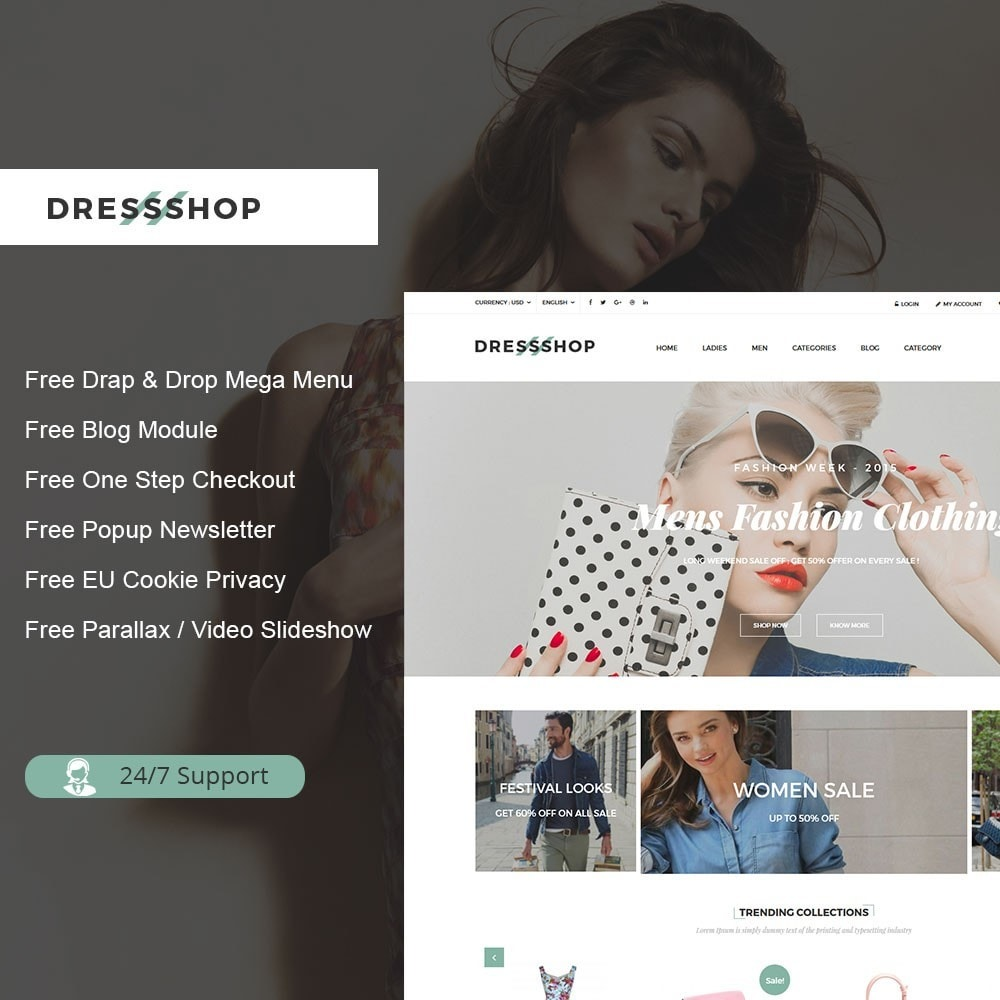 theme - Moda y Calzado - Dressshop Fashion Store - 1