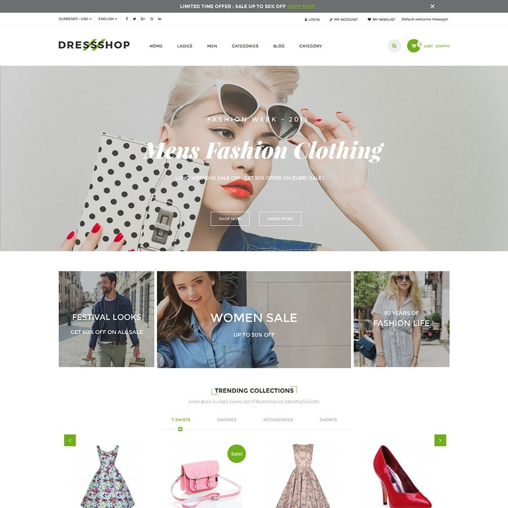 theme - Moda y Calzado - Dressshop Fashion Store - 5