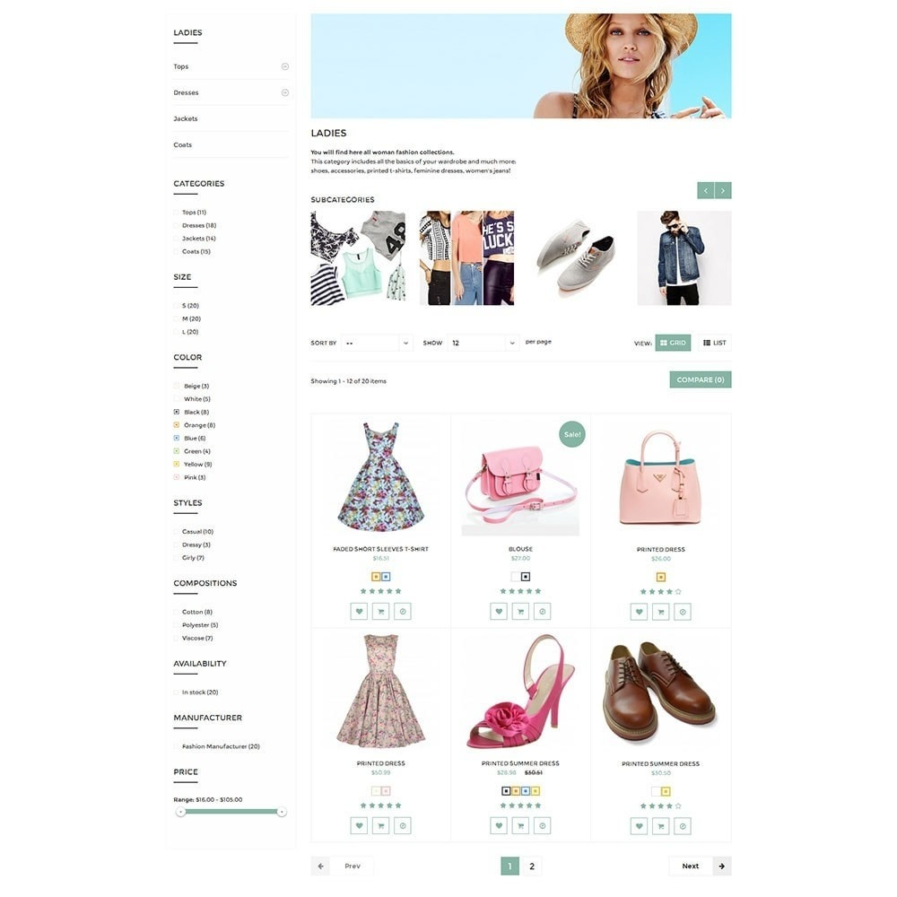 theme - Moda y Calzado - Dressshop Fashion Store - 6