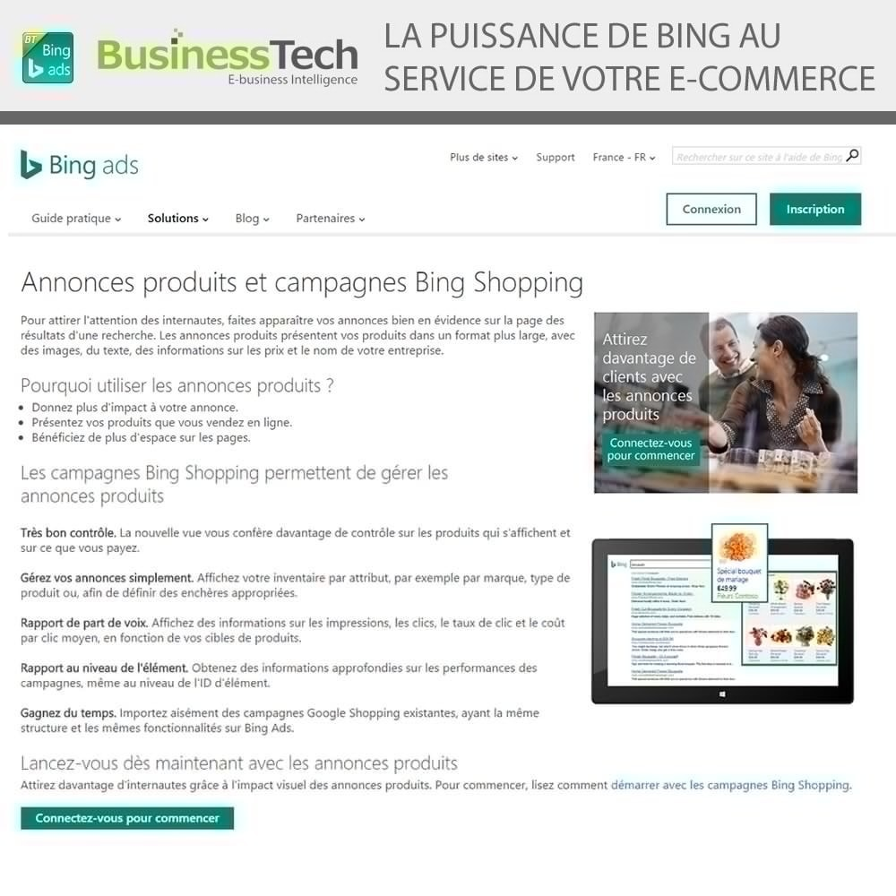 module - Référencement payant (SEA SEM) & Affiliation - Bing Merchant Center - 2