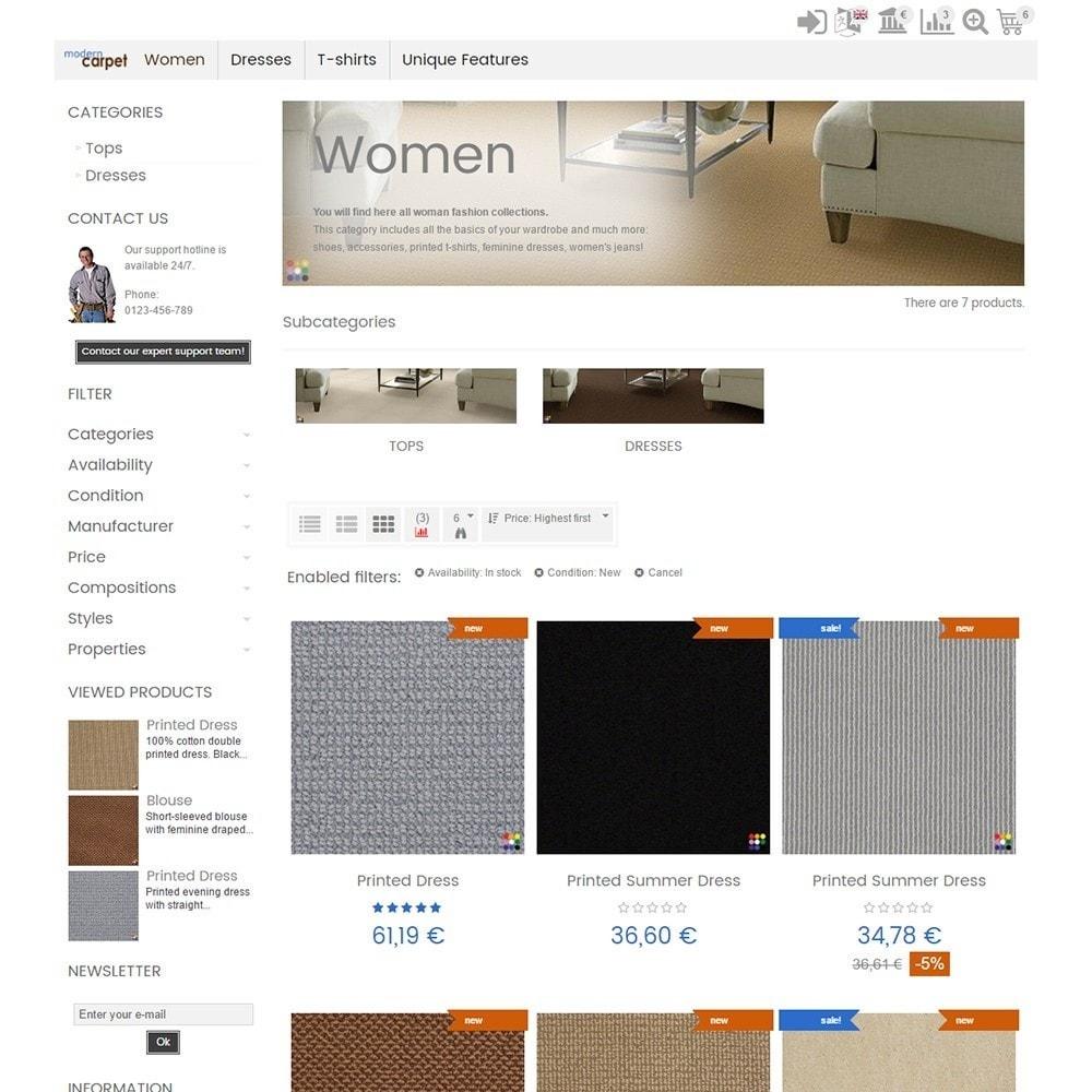 theme - Casa & Jardins - Modern Carpet - 3