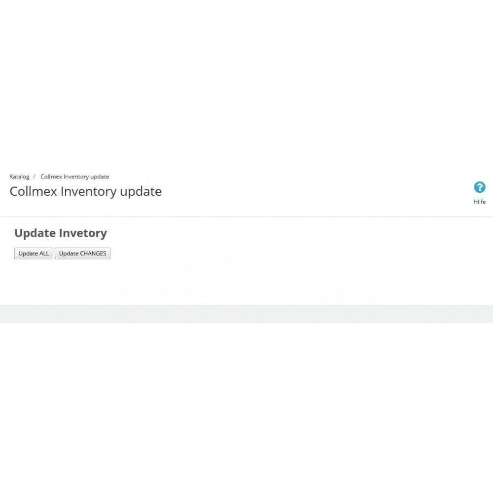 module - Datenabbindungen zu Drittsystemen (CRM, ERP, ...) - Collmex - API - 4