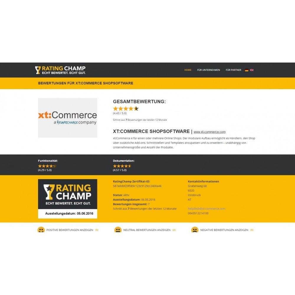 module - Customer Reviews - RatingChamp customer reviews and certificate - 3