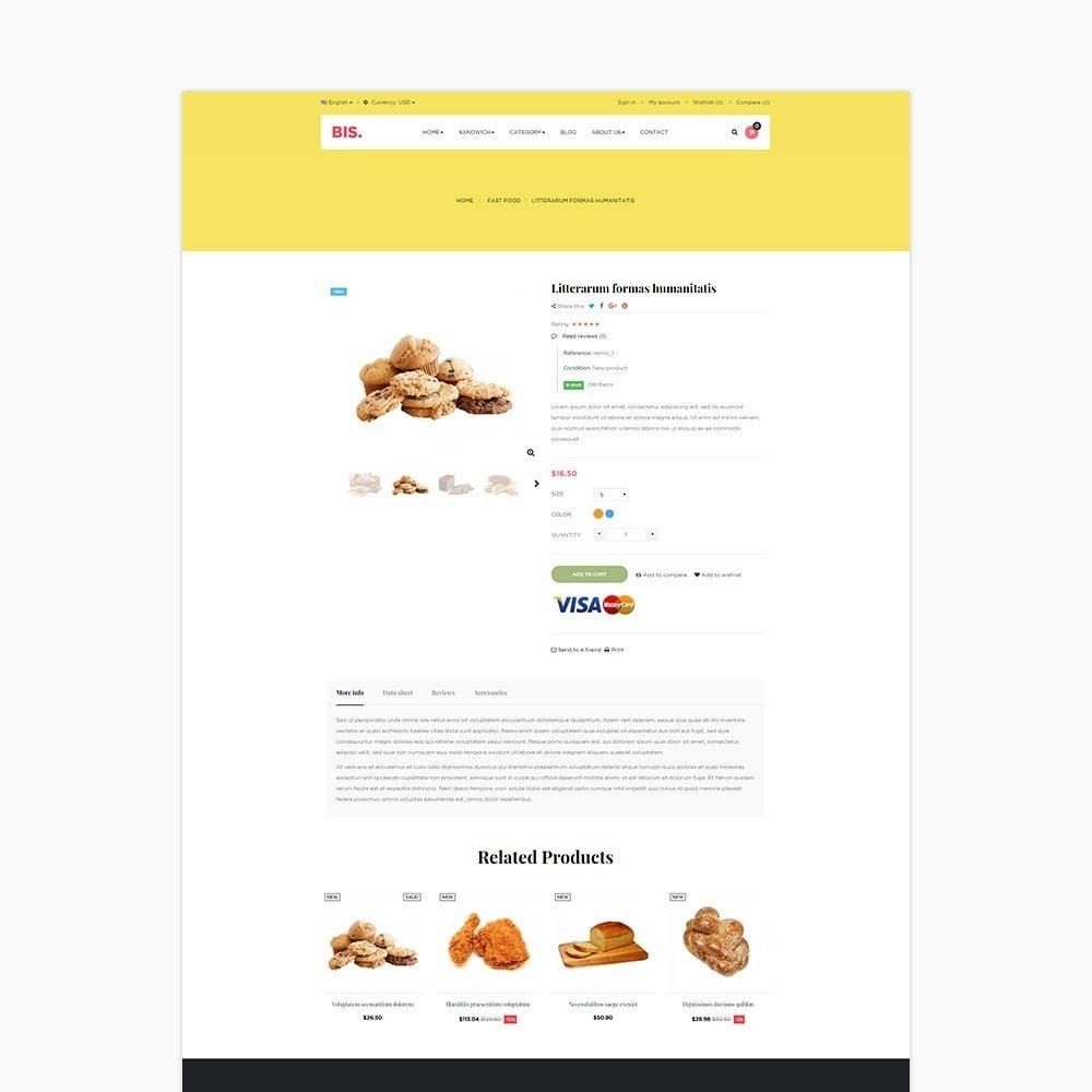 theme - Lebensmittel & Restaurants - Leo Bis - 4