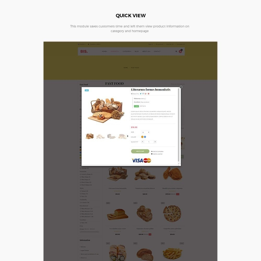 theme - Lebensmittel & Restaurants - Leo Bis - 6