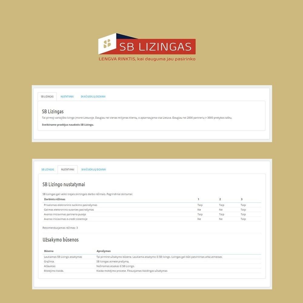 module - Other Payment Methods - SB lizingas (išsimokėtinai) - 4