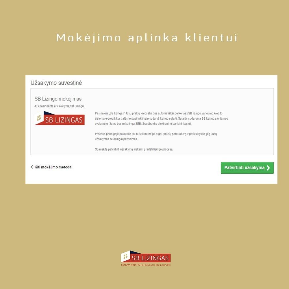 module - Other Payment Methods - SB lizingas (išsimokėtinai) - 7