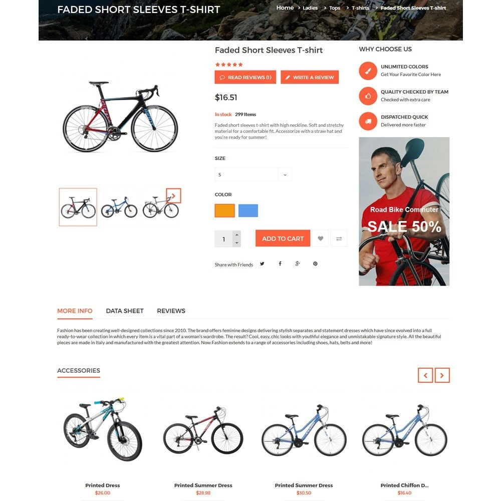 theme - Sports, Activities & Travel - Citybikes Sport Gear - 7
