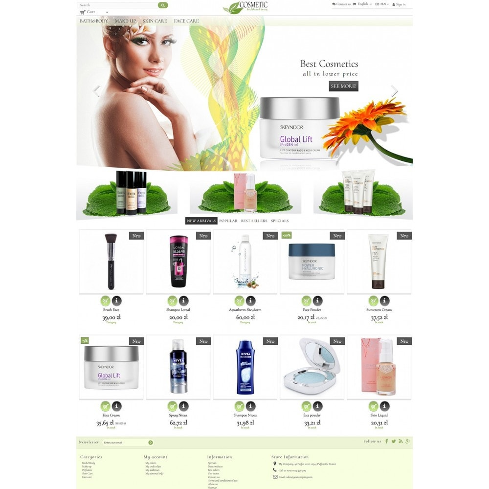 theme - Salute & Bellezza - Cosmetic - 2