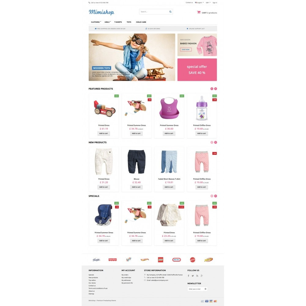 theme - Kids & Toys - Mimishop - 6