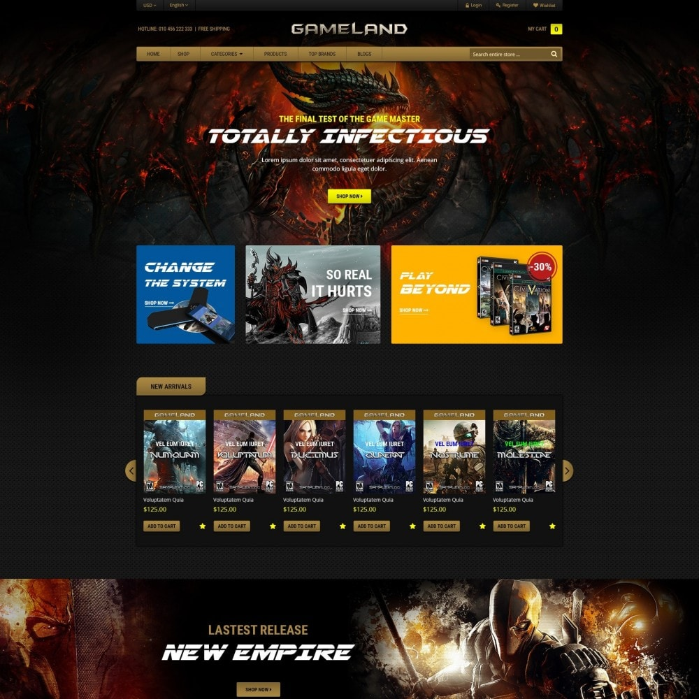 theme - Sports, Activities & Travel - GAMESTORE |  Responsive GameWorld - 2