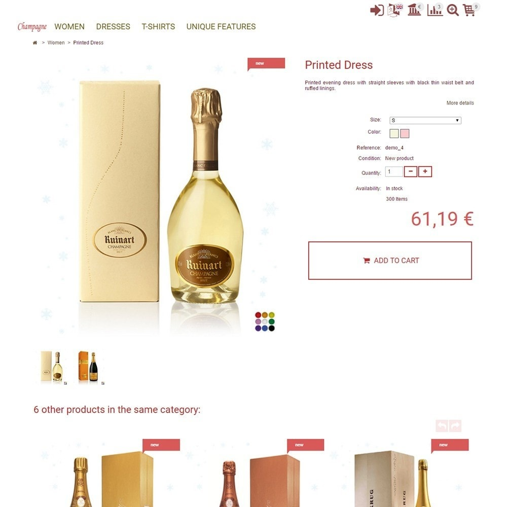 theme - Drink & Tobacco - Champagne - 4