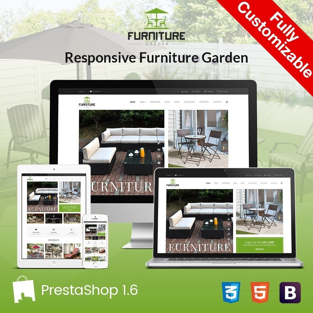 theme - Maison & Jardin - GARDEN | Comeback Furniture Home Store - 1