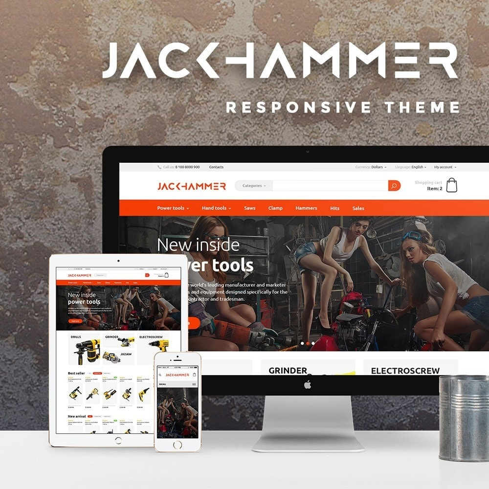 theme - Hogar y Jardín - Jackhammer Store - 1