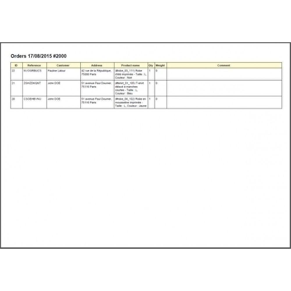 module - Préparation & Expédition - Colissimo Etiquetage / Sonice - 19