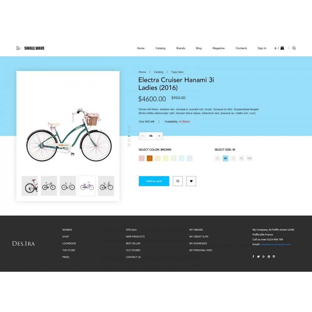 theme - Sports, Activities & Travel - Onewave - Sport store - 3