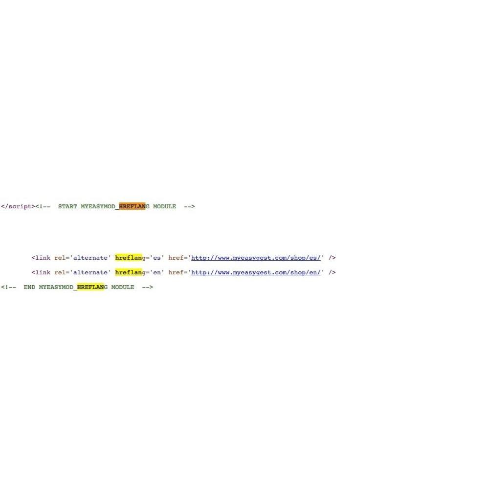 module - SEO (Indicizzazione naturale) - MyEasyMod hreflang - 3