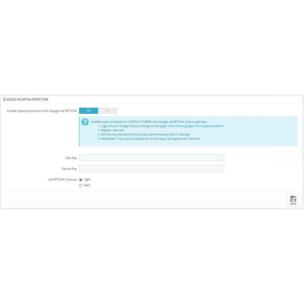 module - Rendimiento del sitio web - Security Booster - 8