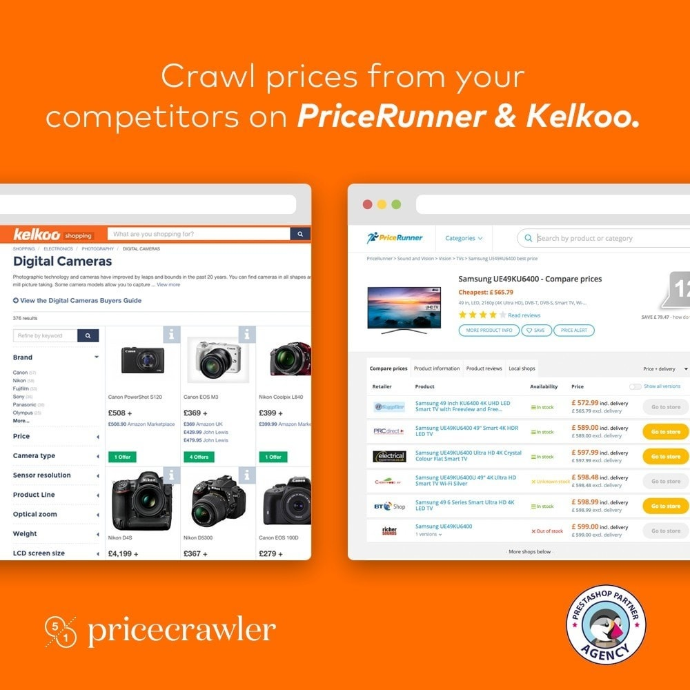 module - Comparatori di prezzi - Pricecrawler | Crawl prices from PriceRunner - 1