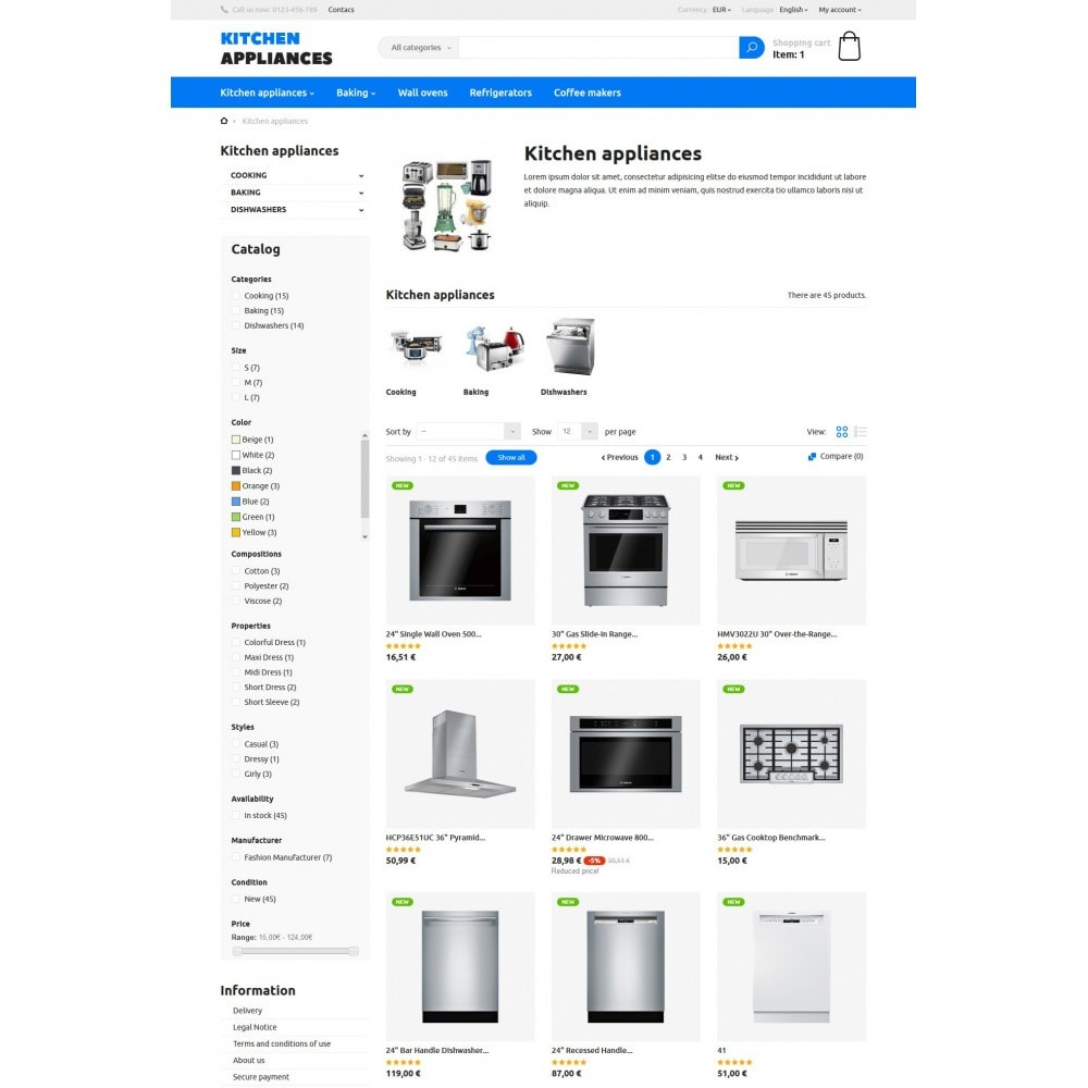 theme - Dom & Ogród - Kitchen Appliances - 4