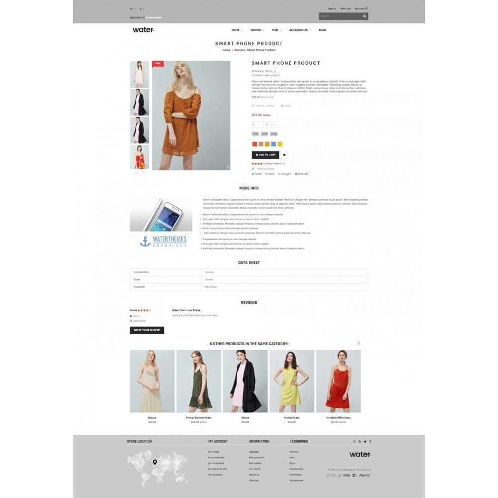 theme - Moda & Obuwie - Dresses Shop - 7