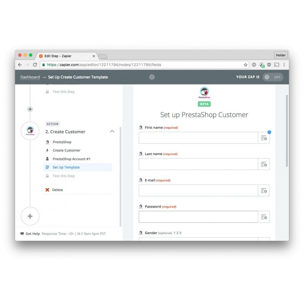 module - Data Integraties (CRM, ERP...) - Zapier Integration - 3