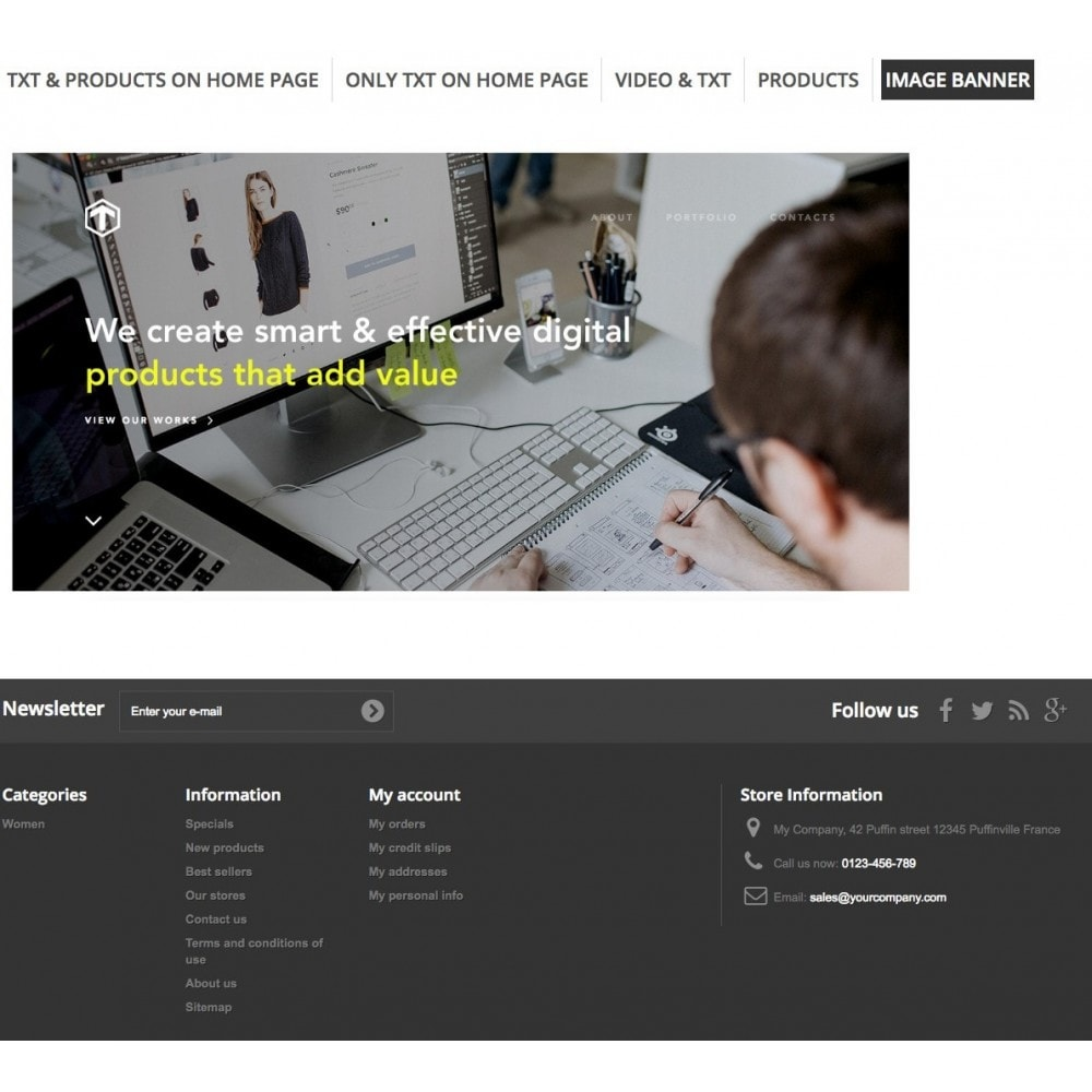 module - Bloki, Zakładki & Banery - Promo Tabs - 10