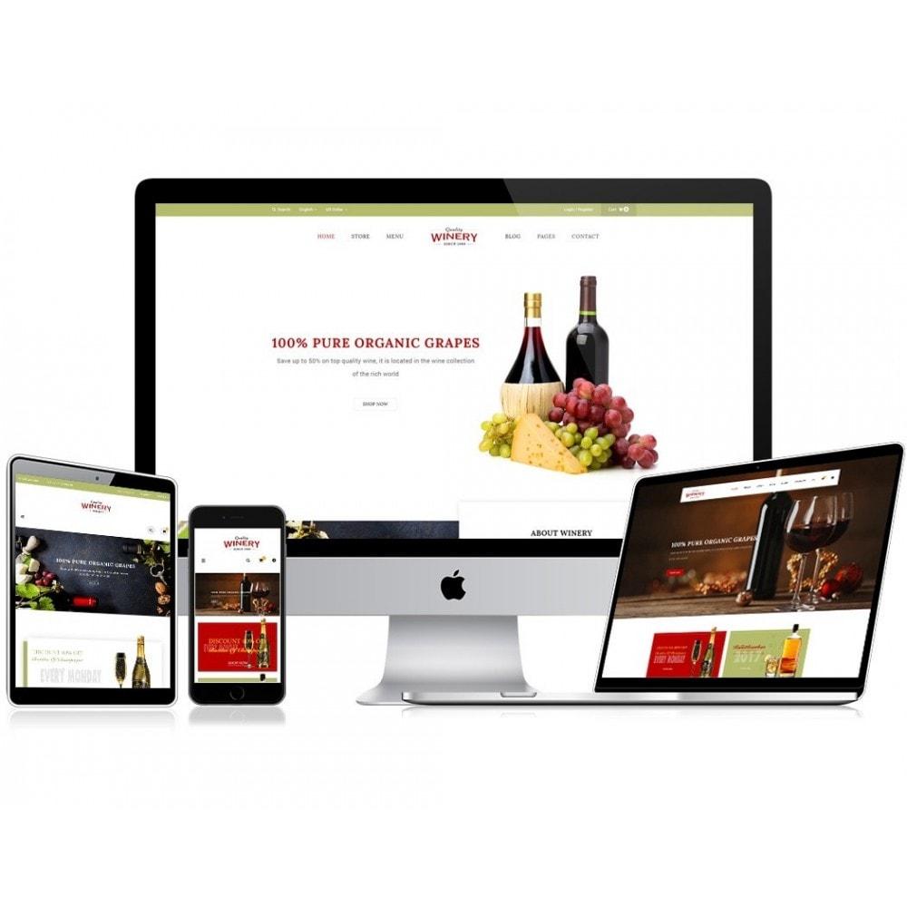 theme - Продовольствие и рестораны - JMS Winery - 1