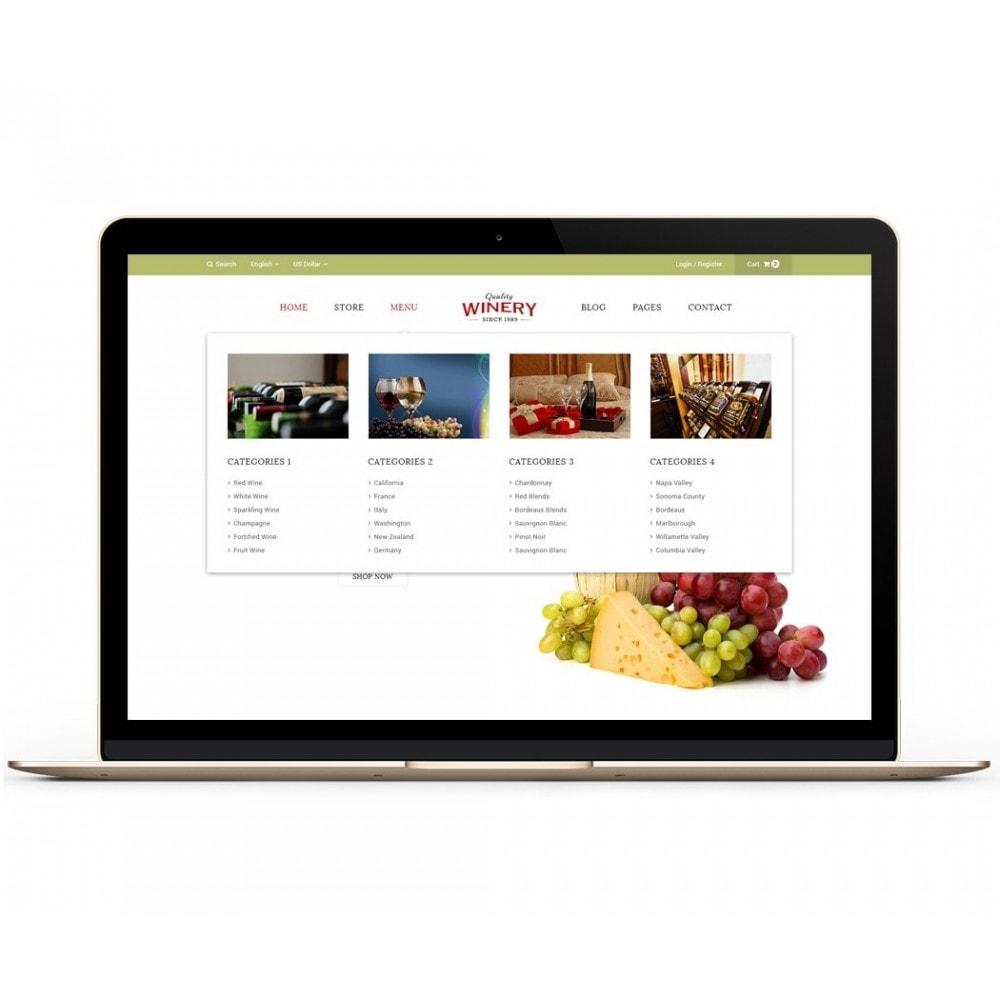 theme - Продовольствие и рестораны - JMS Winery - 2