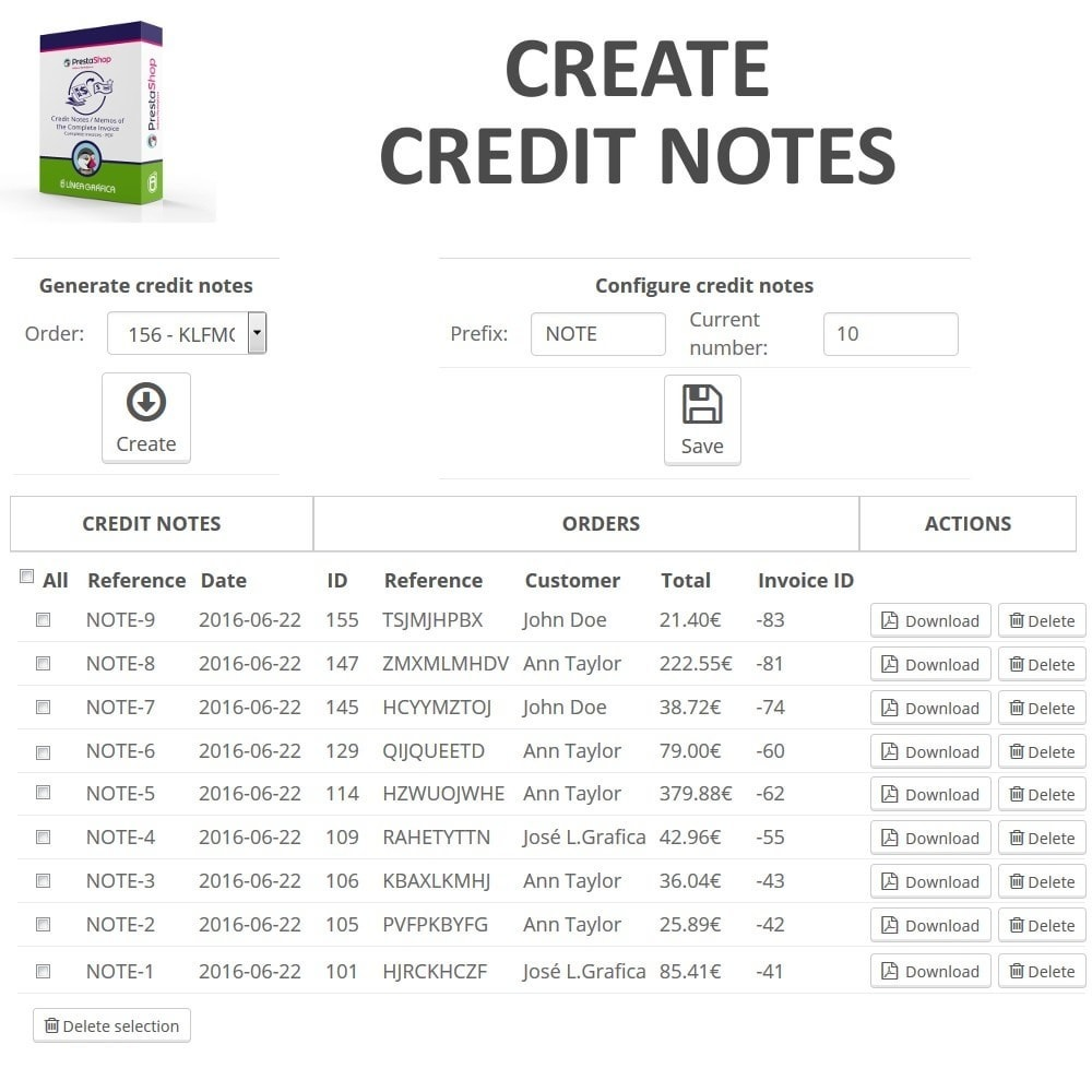 Maidofhonortoastus  Nice Credit Notes  Memos Of The Complete Invoice In Pdf  Prestashop  With Heavenly Module  Accounting Amp Invoicing  Credit Notes  Memos Of The Complete Invoice In Pdf With Charming Example Of A Receipt Of Payment Also How To Write A Car Receipt In Addition Receipt Books Printed And Receipt For Deposit Template As Well As Online Cash Receipt Generator Additionally Lic Payment Receipt Online From Addonsprestashopcom With Maidofhonortoastus  Heavenly Credit Notes  Memos Of The Complete Invoice In Pdf  Prestashop  With Charming Module  Accounting Amp Invoicing  Credit Notes  Memos Of The Complete Invoice In Pdf And Nice Example Of A Receipt Of Payment Also How To Write A Car Receipt In Addition Receipt Books Printed From Addonsprestashopcom