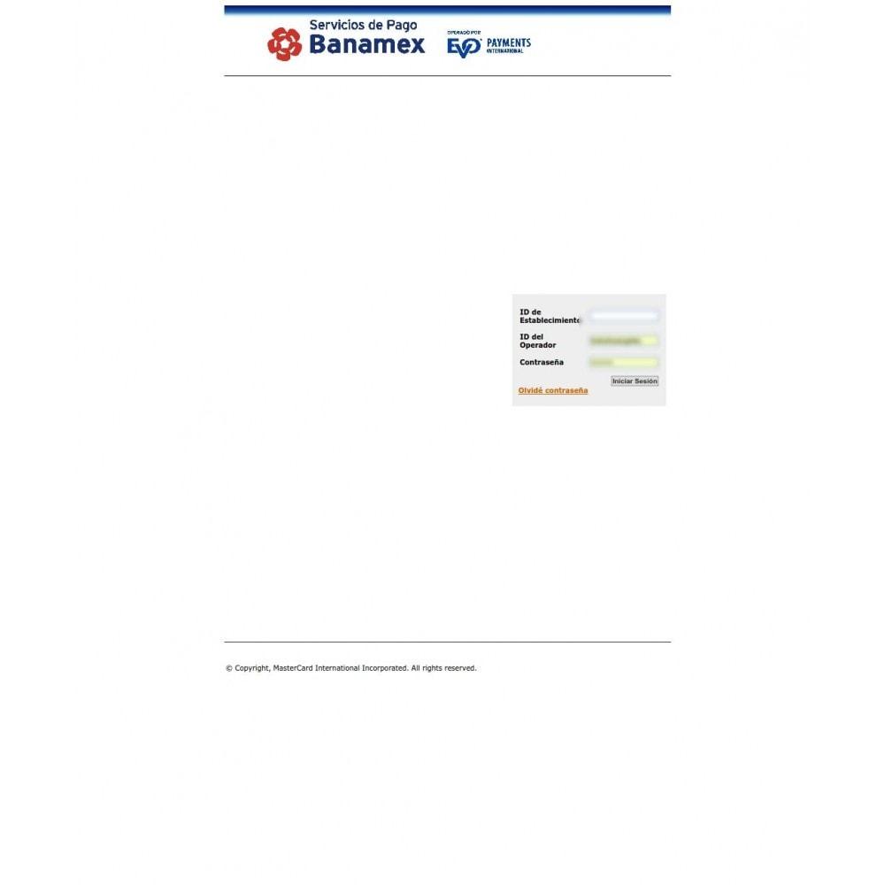 module - Pago con Tarjeta o Carteras digitales - Pasarela de pago BANAMEX Hosted Checkout Integration - 3