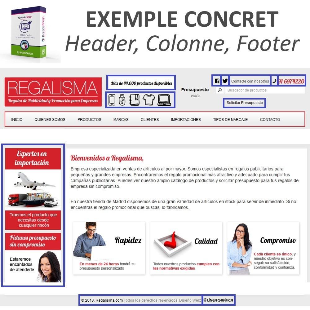 module - Personnalisation de Page - Design Facile - Ajouter Images, Textes et Scripts - 8